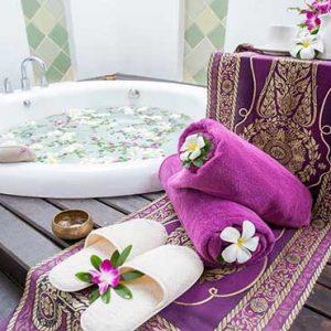 Thailand Honeymoon Packages Melati Beach Resort & Spa Spa Tub