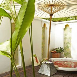 Thailand Honeymoon Packages Melati Beach Resort & Spa Spa Tub1