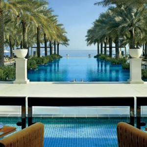 Oman Honeymoon Packages Al Bustan A Ritz Carlton Hotel Al Khiran Terrace Lounge