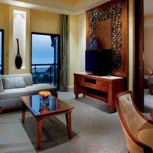 Oman Honeymoon Packages Al Bustan A Ritz Carlton Hotel Executive Mountain View Suite