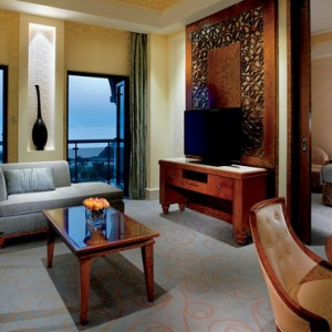 Oman Honeymoon Packages Al Bustan A Ritz Carlton Hotel Executive Sea View Suite