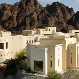 Oman Honeymoon Packages Al Bustan A Ritz Carlton Hotel Exterior