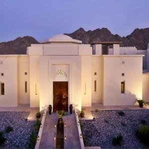 Oman Honeymoon Packages Al Bustan A Ritz Carlton Hotel Exterior 2