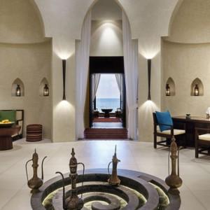 Oman Honeymoon Packages Al Bustan A Ritz Carlton Hotel Interior