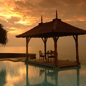 saman villas - sri lanka luxury honeymoons - sunset