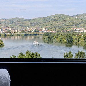 six senses douro velley - luxury portugal honeymoons - window view