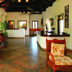 sugar cane club hotel - barbados honeymoon packages - lobby