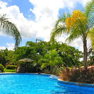 sugar cane club hotel - barbados honeymoon packages - pool