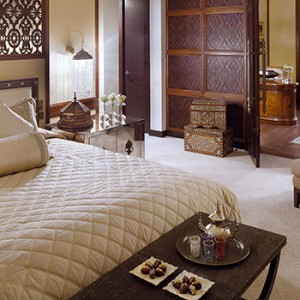 the palace downtown dubai - dubai luxury honeymoon packages - bedroom suite
