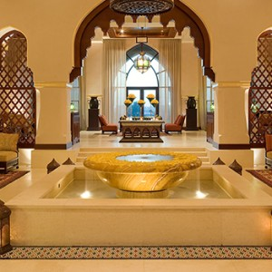 the palace downtown dubai - dubai luxury honeymoon packages - lobby