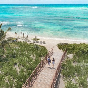 Mexico Honeymoon Packages UNICO 2080 Riviera Maya Hotel Beach
