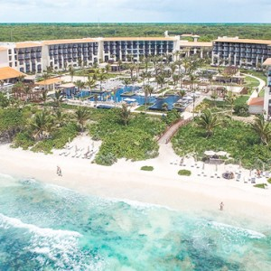 Mexico Honeymoon Packages UNICO 2080 Riviera Maya Hotel Exterior
