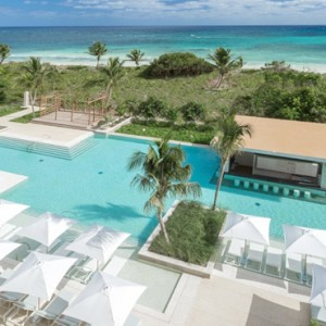 Mexico Honeymoon Packages UNICO 2080 Riviera Maya Hotel Pool 2