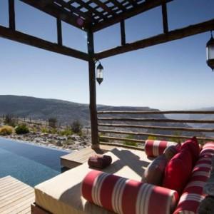 Oman Honeymoon Packages Alila Jabal Akhdar Cabana 2