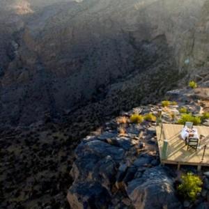 Oman Honeymoon Packages Alila Jabal Akhdar Dining 4