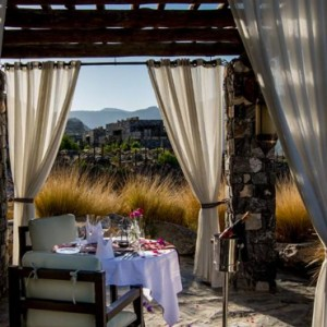 Oman Honeymoon Packages Alila Jabal Akhdar Dining 7