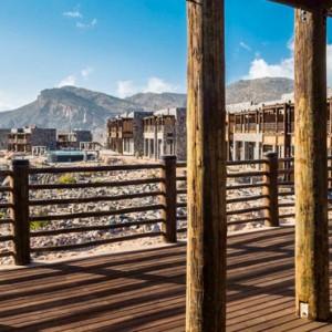Oman Honeymoon Packages Alila Jabal Akhdar Jabal Terrace