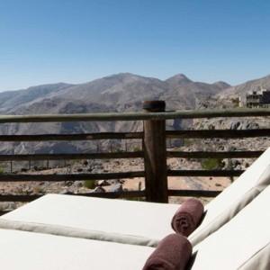 Oman Honeymoon Packages Alila Jabal Akhdar Jabal Terrace 2