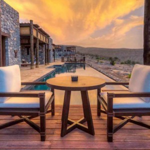 Oman Honeymoon Packages Alila Jabal Akhdar Jabal Villa