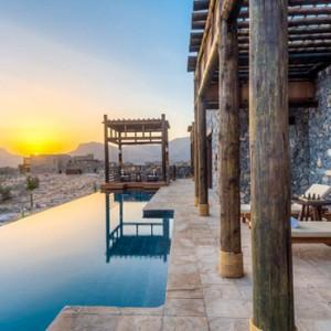 Oman Honeymoon Packages Alila Jabal Akhdar Pool