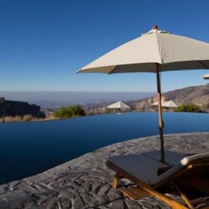 Oman Honeymoon Packages Alila Jabal Akhdar Pool 3