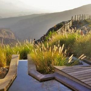 Oman Honeymoon Packages Alila Jabal Akhdar Pool 4
