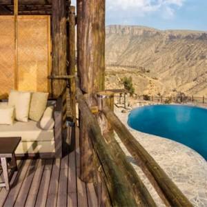 Oman Honeymoon Packages Alila Jabal Akhdar Ridge View Suite