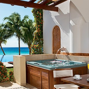 Zoetry Villa Rolandi Mujeres Cancun - Luxury Honeymoon Packages - terrace