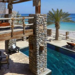 Oman Honeymoon Packages Six Senses Zighy Bay Oman Pool 2