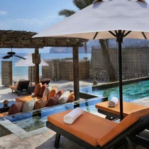 Oman Honeymoon Packages Six Senses Zighy Bay Oman Pool Villa Suite Beachfront 4