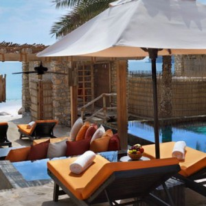 Oman Honeymoon Packages Six Senses Zighy Bay Oman Spa Pool Villa Beachfront 3