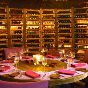 Oman Honeymoon Packages Six Senses Zighy Bay Oman Wine Cellar