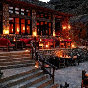 Oman Honeymoon Packages Six Senses Zighy Bay Oman Dining 4