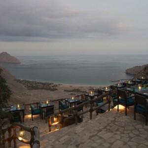 Oman Honeymoon Packages Six Senses Zighy Bay Oman Dining 5