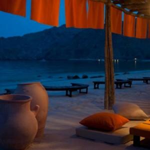 Oman Honeymoon Packages Six Senses Zighy Bay Oman Dining 8