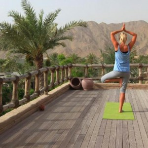 Oman Honeymoon Packages Six Senses Zighy Bay Oman Yoga 2