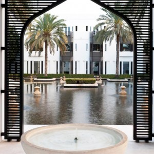 Oman Honeymoon Packages The Chedi Muscat Deluxe Club Terrace Room 2
