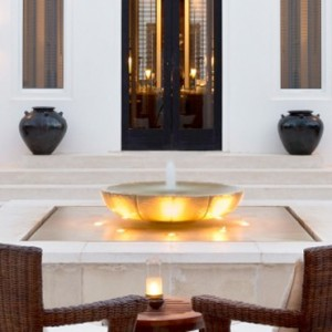 Oman Honeymoon Packages The Chedi Muscat Deluxe Club Terrace Room 3