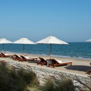 Oman Honeymoonpackages The Chedi Muscat Oman Beach 2
