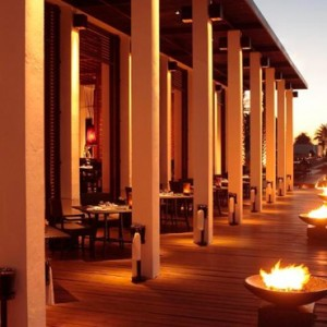 Oman Honeymoon packages The Chedi Muscat Oman Dining