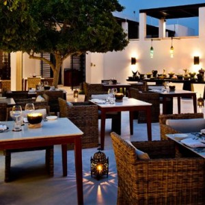 Oman Honeymoon packages The Chedi Muscat Oman Dining 2