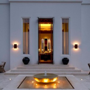 Oman Honeymoon packages The Chedi Muscat Oman Exterior