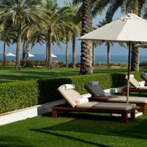 Oman Honeymoon packages The Chedi Muscat Oman Gardens