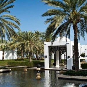 Oman Honeymoon packages The Chedi Muscat Oman Gardens 2