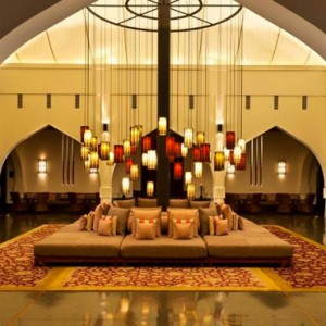 Oman Honeymoon packages The Chedi Muscat Oman Lounge