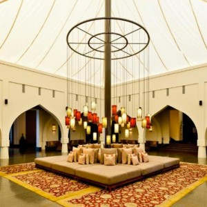 Oman Honeymoon packages The Chedi Muscat Oman Lounge 3