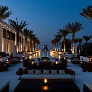 Oman Honeymoon packages The Chedi Muscat Oman Pool 2