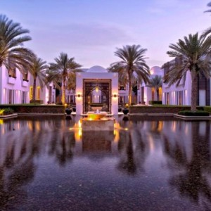 Oman Honeymoon packages The Chedi Muscat Oman Pool 3