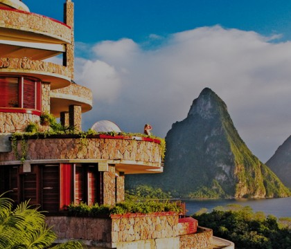 a picture of St Lucia