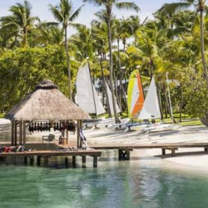 Boathouse Exterior One&Only Le Saint Geran Mauritius Honeymoons